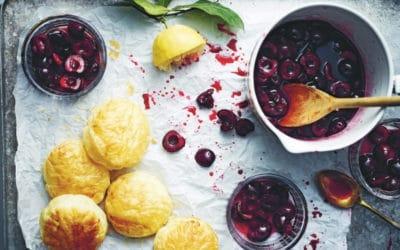 cherry pot pies