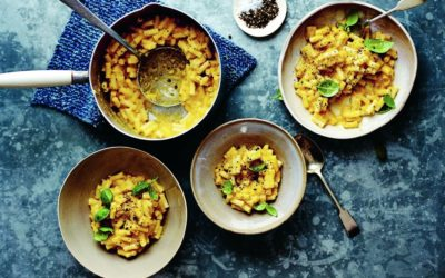 butternut squash and sage macaroni