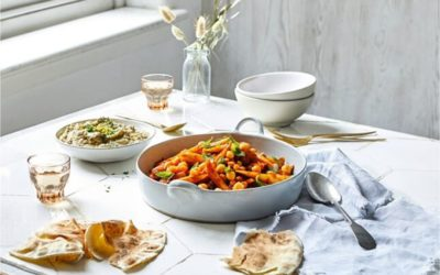 parsnip and chickpea tagine