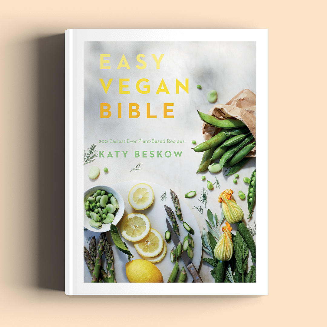 Easy Vegan Bible book by Katy Beskow
