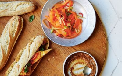 banh mi with quick pickles